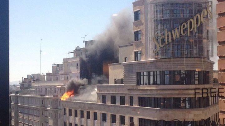 Un incendio en el Edificio Capitol obliga a desalojar el hotel