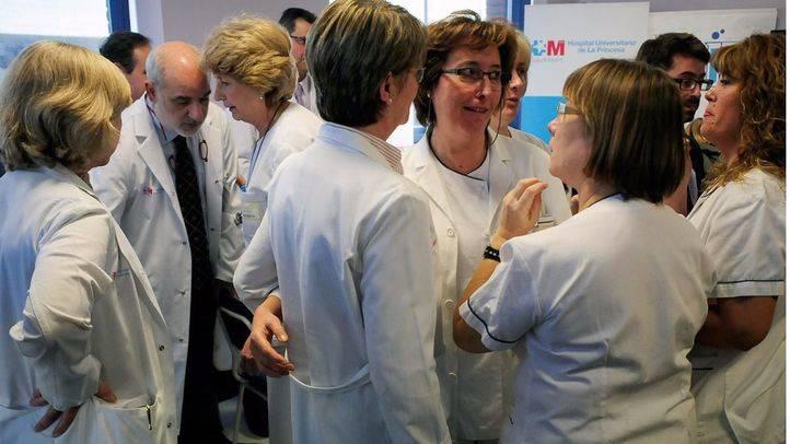 Un total de 85 médicos del SERMAS secundan las concentraciones convocadas por los sindicatos