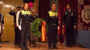 Carmena, en los actos de San Juan de la Polic�a Municipal