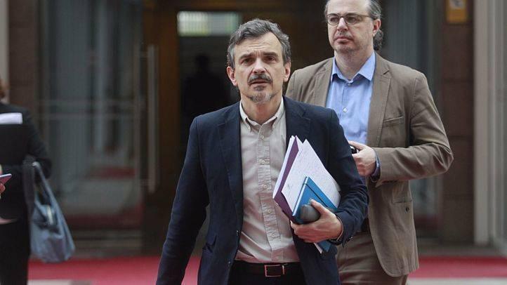 Jos� Manuel L�pez, portavoz del grupo parlamentario de Podemos en la Asamblea de Madrid