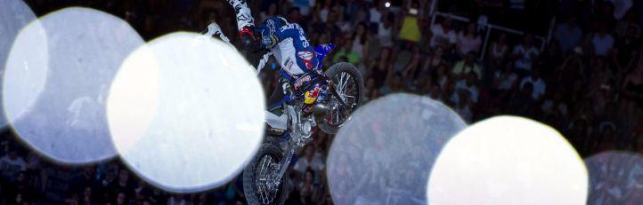 Cuarto triunfo consecutivo para el franc�s Tom Pag�s en la Red Bull X-Fighters