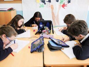 Una clase del Colegio Privado Internacional Eurocolegio Casvi