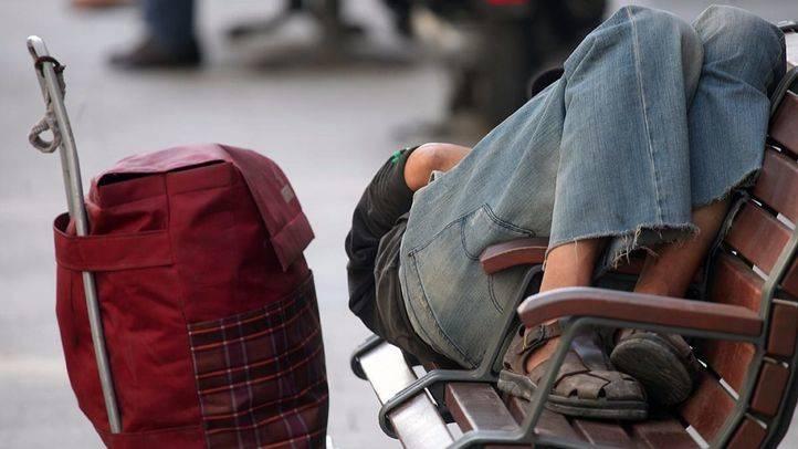 Persona sin hogar (Archivo)