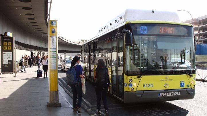 Desde el miércoles se podrá pagar con tarjeta en las líneas 27 y Exprés Aeropuerto de la EMT