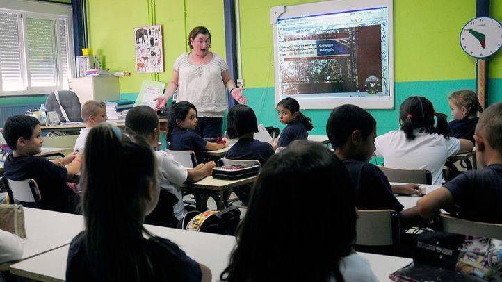 Profesora en una clase