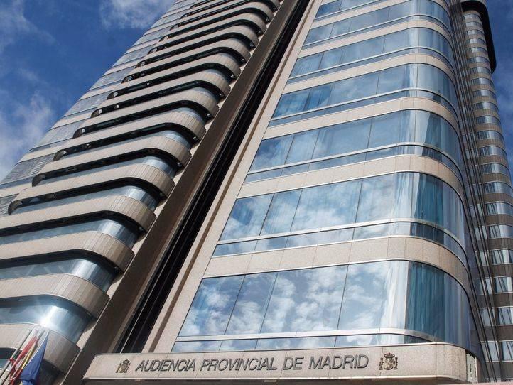 Audiencia Provincial de Madrid en la calle Santiago de Compostela número 96, donde se está llevando a cabo el juicio (Archivo)