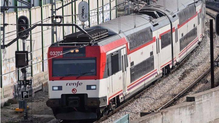 Cercanías reforzará su servicio de trenes por las obras de la L1 de Metro