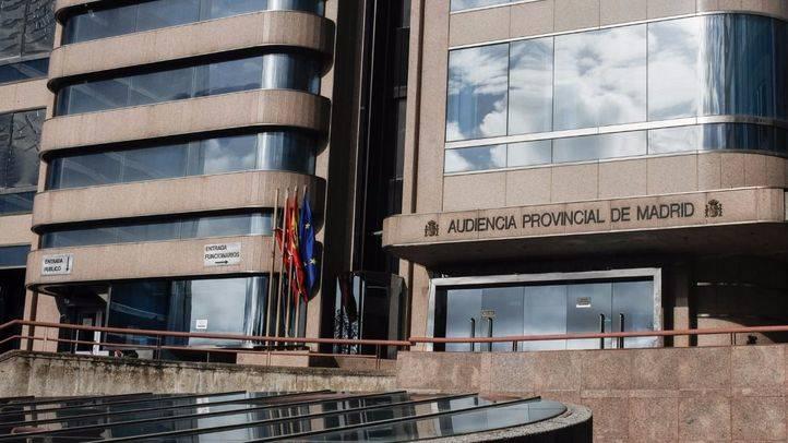 Audiencia Provincial de Madrid en la calle Santiago de Compostela número 96, donde se está juzgando el asesinato.