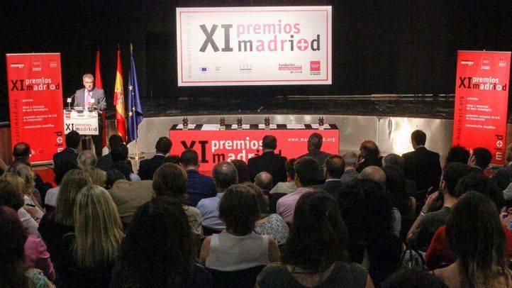 Entrega de los XI Premios Madrid+D a los que ha asistido el consejero de educación, cultura y deporte, Rafael Vangrieken.