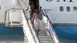 Michelle Obama visita Madrid