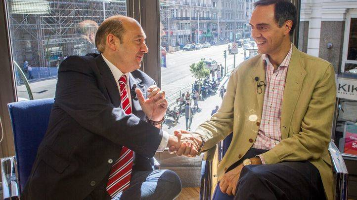 Terraza de Gran V�a con Jos� Antonio Poveda