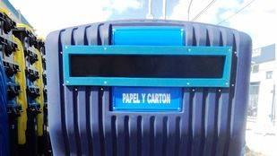 El Ayuntamiento probará cuatro modelos de contenedores antihurto para frenar el robo masivo de papel