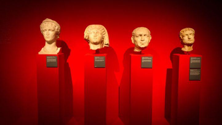 Exposición 'Lusitania romana, origen de dos pueblos' en el Museo Arqueológico Nacional.