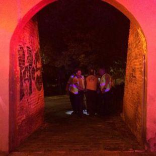 Atención al sin techo agredido en La Chimenea