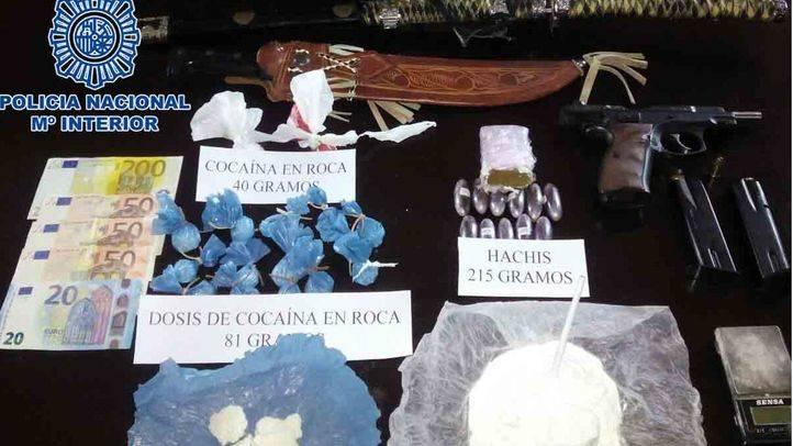 Una mujer detenida por venta de droga en Vallecas