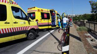 Muere un ciclista atropellado en Aranjuez y otra resulta herida grave en la M-409