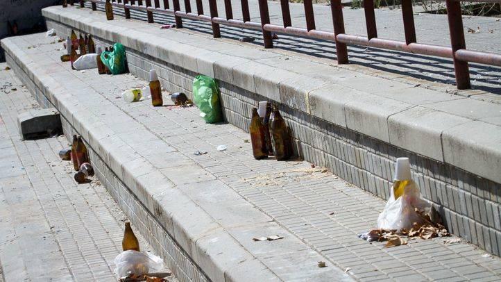 Quienes sustituyan las multas por trabajos de limpieza llevarán chalecos azules