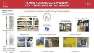 La Comunidad de Madrid invertirá 114 millones en mejorar la accesibilidad de Metro de Madrid