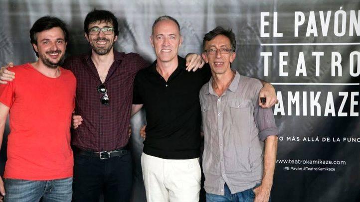 Jordi Buxó, Israel Elejalde, Miguel del Arco y Aitor Tejada
