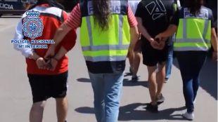 En libertad con cargos los ocho miembros de Distrito 14 detenidos