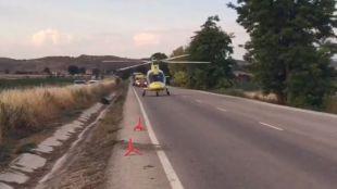 Hospitalizado grave tras dar varias vueltas de campana en Estremera