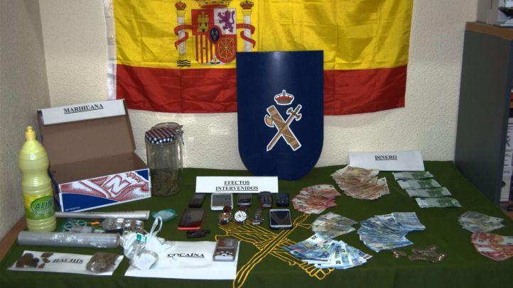Cae un punto de venta de droga con 'servicio a domicilio' en Colmenar Viejo