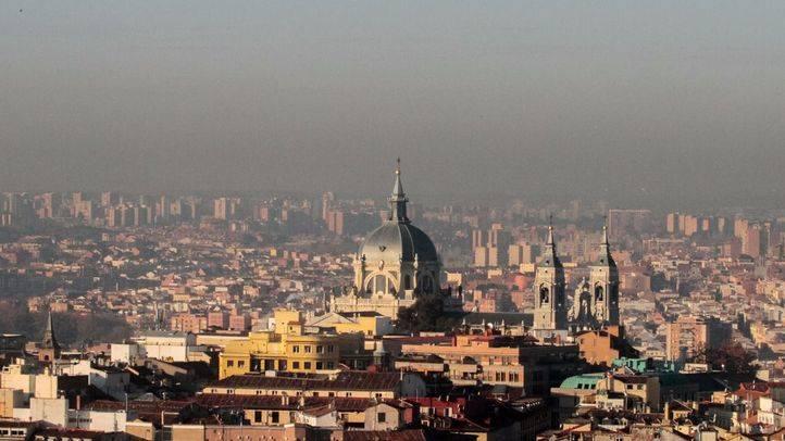Boina de Madrid por la contaminación. (Archivo)