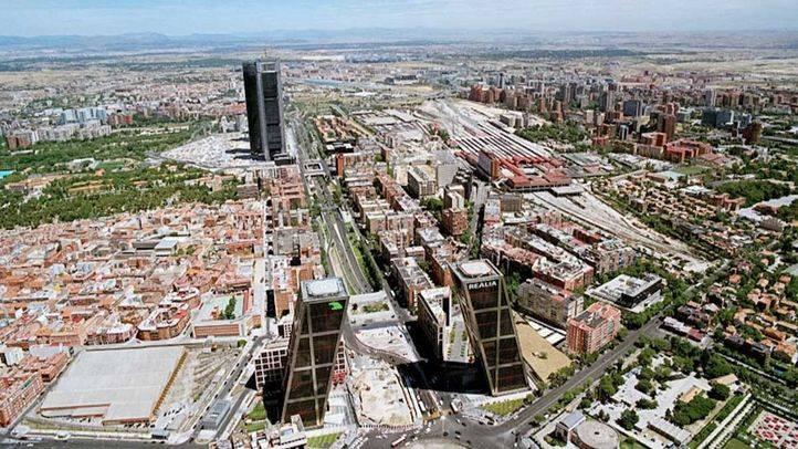 Nuevo proyecto Distrito Castellana Norte que sustituye a la 'operación Chamartin' (archivo)