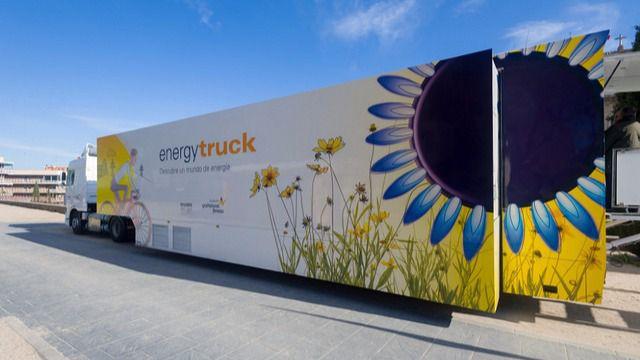 Energytruck, una exposición itinerante sobre energía, llega a la Comunidad de Madrid