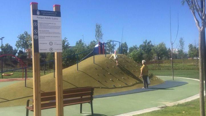 Majadahonda abre las puertas del parque 'Adolfo Suárez'