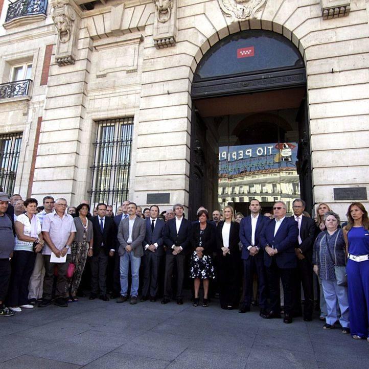Madrid se solidariza con las víctimas del atentado de Niza