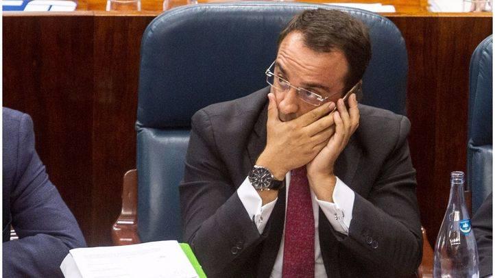 Daniel Ortiz, exalcalde de Móstoles, y actual di`putado en la Asamblea de Madrid.(Archivo)