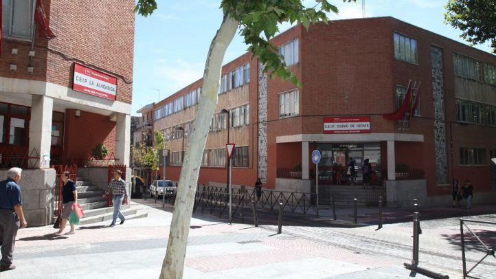 Colegios La Alhóndiga y Ciudad de Getafe