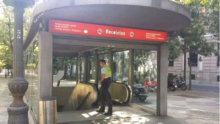 La estación de Recoletos cierra desde este sábado hasta el 5 de septiembre por obras