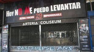 Puerta del Teatro Coliseum