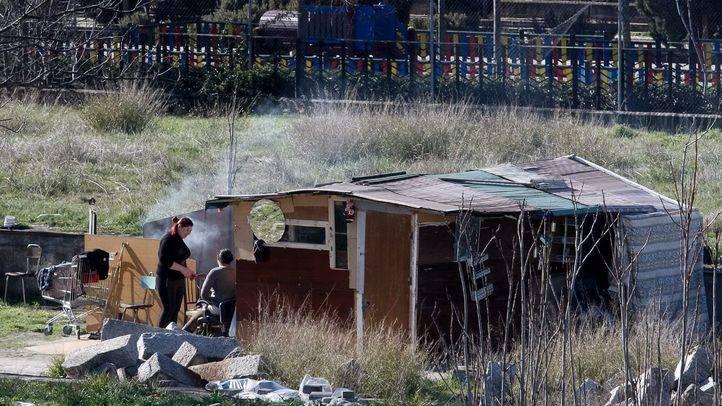 El Ayuntamiento desmantelará esta semana cinco asentamientos en el centro de Madrid