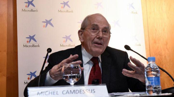 """Camdessus: """"Los microcréditos son un buen instrumento al servicio de la inclusión social en Europa"""""""