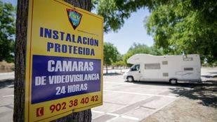 Pinto estudiará si el único parking de caravanas de Madrid es rentable