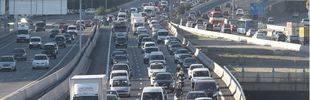 5,7 millones de desplazamientos por carretera durante la festividad de Santiago