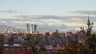 Skyline de Azka visto desde la calle Puerto de Costabona. (Archivo)