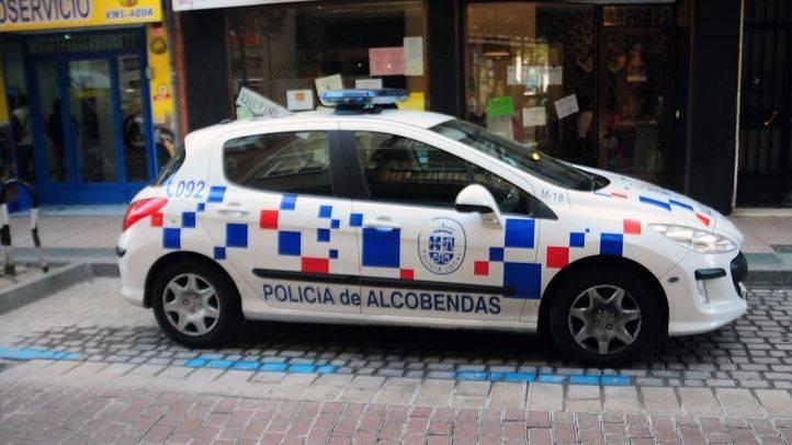 Coche de la Polic�a Local de Alcobendas