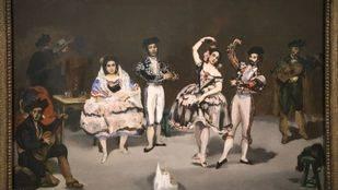 �El ballet espa�ol�, de Edouard Manet (1862)