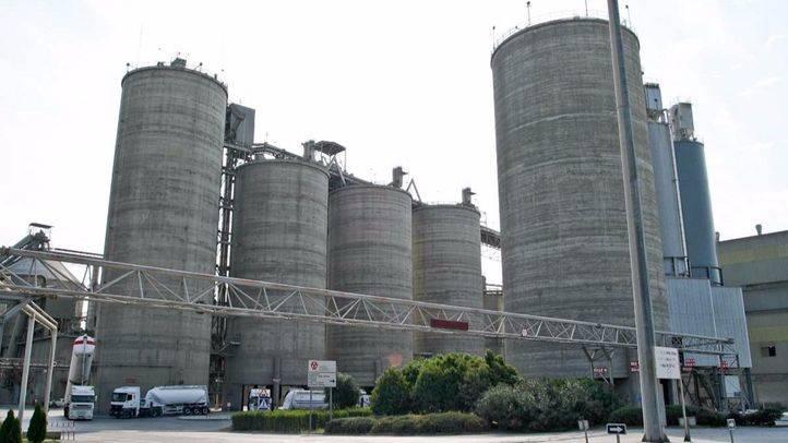 Fabrica de cementos de Morata de Tajuña  (archivo)