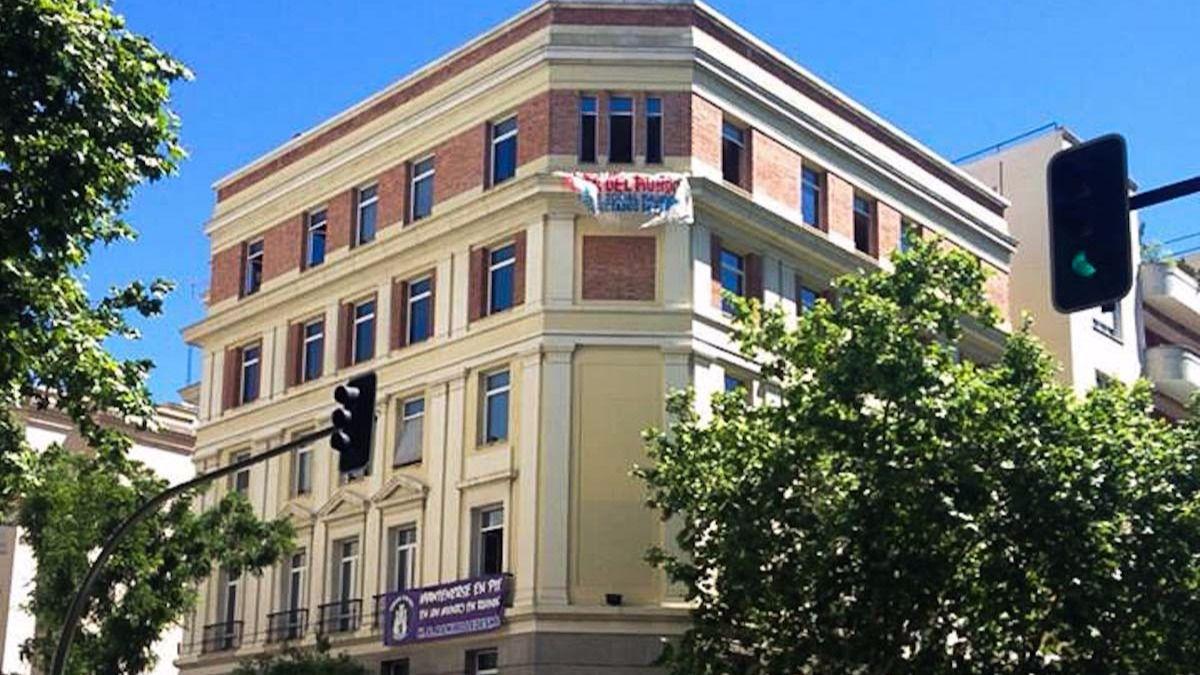 Mutua compra la antigua sede de f rum filat lico por 30 8 - Sede mutua madrilena ...