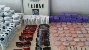 Gafas de sol y productos cosm�ticos falsificados