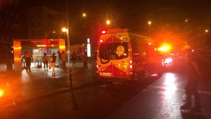 Heridos dos j�venes, uno de ellos grave, por arma blanca en el metro de Legazpi