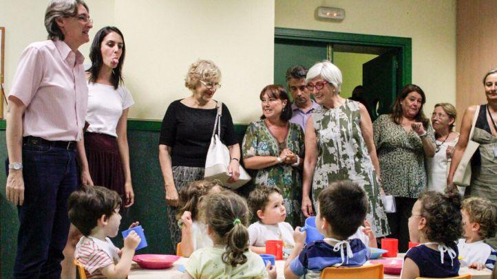 Madrid se compromete a descongestionar las escuelas infantiles y bajar su precio