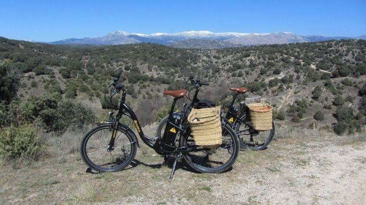 Bicicletas el�ctricas en Manzanares El Real