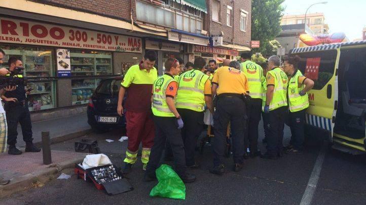 Muy grave un hombre de 72 a�os tras ser atropellado cuando cruzaba la calle