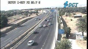 Normalidad en las carreteras madrileñas al inicio de la operación salida